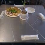 005Harry作アルミのテーブル。